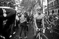 Luke Durbridge (AUS/Orica-GreenEDGE) after the finish<br /> <br /> 2014 Tour de France<br /> stage 15: Tallard - Nîmes (222km)