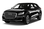 2019 Audi SQ2 Base 5 Door SUV angular front stock photos of front three quarter view