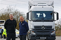 2018 04 16 Lorry to be used by south Wales Police, Swansea, UK