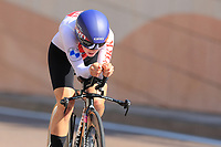 9th September 2021; Trento, Trentino–Alto Adige, Italy: 2021 UEC Road European Cycling Championships, Womens Individual time trials:  Elise CHABBEY (SUI)