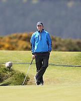 Sunday 31st May 2015; Thomas Aiken, South Africa, on the 8th green<br /> <br /> Dubai Duty Free Irish Open Golf Championship 2015, Round 4 County Down Golf Club, Co. Down. Picture credit: John Dickson / DICKSONDIGITAL