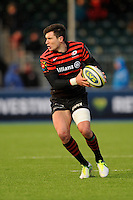 20130127 Copyright onEdition 2013©.Free for editorial use image, please credit: onEdition..Nils Mordt of Saracens in action during the LV= Cup match between Saracens and Cardiff Blues at Allianz Park on Sunday 27th January 2013 (Photo by Rob Munro)..For press contacts contact: Sam Feasey at brandRapport on M: +44 (0)7717 757114 E: SFeasey@brand-rapport.com..If you require a higher resolution image or you have any other onEdition photographic enquiries, please contact onEdition on 0845 900 2 900 or email info@onEdition.com.This image is copyright onEdition 2013©..This image has been supplied by onEdition and must be credited onEdition. The author is asserting his full Moral rights in relation to the publication of this image. Rights for onward transmission of any image or file is not granted or implied. Changing or deleting Copyright information is illegal as specified in the Copyright, Design and Patents Act 1988. If you are in any way unsure of your right to publish this image please contact onEdition on 0845 900 2 900 or email info@onEdition.com