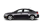 Car Driver side profile view of a 2016 Chevrolet Cruze-Limited 2LT-Auto 4 Door Sedan Side View