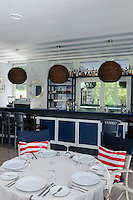 "Restaurant ""Romantik"" am Strand von Jurmala-Majori, Lettland, Europa"