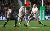 Friday 13th December 2019 | Harlequins vs Ulster Rugby<br /> <br /> Matt Faddes during the Heineken Champions Cup Round 4 clash in Pool 3, between Harlequins and Ulster Rugby and Harlequins at The Stoop, Twickenham, London, England. Photo by John Dickson / DICKSONDIGITAL