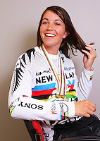 "BMX elite 20"" and elite cruiser class world champion Sarah Walker. BikeNZ/SPARC World Champions media session at Sparc Headquarters, Wellington, New Zealand on Wednesday, 2 December 2009. Photo: Dave Lintott / lintottphoto.co.nz"