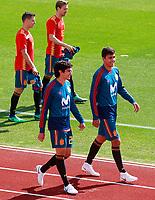 Spain's Cesar Azpilicueta, Nacho Monreal, Jesus Vallejo and Rodri Hernandez during training session. June 5,2018.(ALTERPHOTOS/Acero) /NortePhoto.com NORTEPHOTOMEXICO