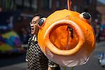 © Joel Goodman - 07973 332324 . 22/06/2014 .  Manchester , UK . The 2014 Manchester Day Parade . Photo credit : Joel Goodman