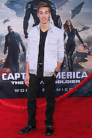 """HOLLYWOOD, LOS ANGELES, CA, USA - MARCH 13: Austin North at the World Premiere Of Marvel's """"Captain America: The Winter Soldier"""" held at the El Capitan Theatre on March 13, 2014 in Hollywood, Los Angeles, California, United States. (Photo by Xavier Collin/Celebrity Monitor)"""