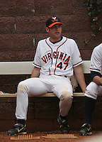 Jeff Lorick of the Virginia Cavaliers vs. the Miami Hurricanes:  March 24th, 2007 at Davenport Field in Charlottesville, VA.  Photo By Mike Janes/Four Seam Images