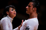 Vincenzo Mariniello and Sara Casini of Italy during the WDSF GrandSlam Latin on the Day 1 of the WDSF GrandSlam Hong Kong 2014 on May 31, 2014 at the Queen Elizabeth Stadium Arena in Hong Kong, China. Photo by AItor Alcalde / Power Sport Images