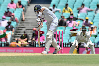 9th January 2021; Sydney Cricket Ground, Sydney, New South Wales, Australia; International Test Cricket, Third Test Day Three, Australia versus India; Ravichandran Ashwin of India batting