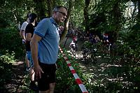 up the infamous Muur van Geraardbergen / Kapelmuur<br /> <br /> 17thBenelux Tour 2021 (2.UWT)<br /> (Final) Stage 7: from Namur to Geraardsbergen (178km)<br /> <br /> ©kramon
