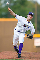 Relief pitcher Nathan Jones #32 of the Winston-Salem Dash in action versus the Lynchburg Hillcats at Wake Forest Baseball Stadium August 29, 2009 in Winston-Salem, North Carolina. (Photo by Brian Westerholt / Four Seam Images)