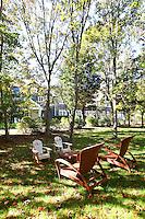 furniture in the yard
