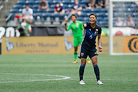 Seattle, WA - Thursday July 27, 2017:   Rumi Utsugi during a 2017 Tournament of Nations match between the women's national teams of the Japan (JAP) and Brazil (BRA) at CenturyLink Field.