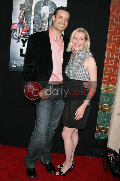 B.P. Cooper and Brittain Engler<br />at the Los Angeles Sneak Peek Screening of 'Ten Years Later'. Majestic Crest Theatre, Los Angeles, CA. 07-16-09<br />Dave Edwards/DailyCeleb.com 818-249-4998