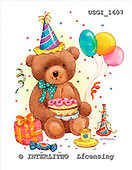 GIORDANO, CUTE ANIMALS, LUSTIGE TIERE, ANIMALITOS DIVERTIDOS, Teddies, paintings+++++,USGI1607,#AC# teddy bears