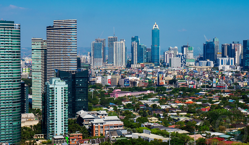 Manila, Philippines Architecture high rise buildings in Manila, Makati,Philippines