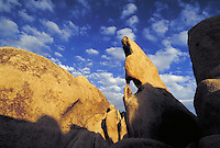 Rock formation. California USA Joshua Tree National Monument.