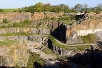 Rønne Granit-Steinbruch, Insel Bornholm, Dänemark, Europa<br /> Granite quarry, Roenne, Isle of Bornholm, Denmark
