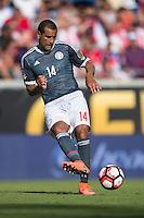Orlando, Florida - Saturday, June 04, 2016: Paulo Da Silva during a Group A Copa America Centenario match between Costa Rica and Paraguay at Camping World Stadium.