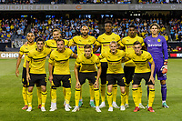 Chicago, Illinois - July 20, 2018: Manchester City and Borussia Dortmund play in a 2018 International Champions Cup match at Soldier Field.