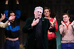 """Harvey Fierstein during the Broadway Opening Night Curtain Call for """"Torch Song"""" at the Hayes Theater on November 1, 2018 in New York City."""