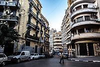 Edifici del centro di Oran Buildings in Oran center