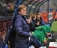 KNVB Beker Finale : ADO Den Haag - FC Twente : Sarina Wiegman<br /> foto DAVID CATRY / Nikonpro.be