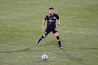 COLUMBUS, OH - DECEMBER 12: Aidan Morris #21 of the Columbus Crew plays the ball during a game between Seattle Sounders FC and Columbus Crew at MAPFRE Stadium on December 12, 2020 in Columbus, Ohio.