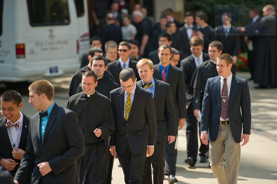 Aug. 25, 2012; C.S.C. Final vows..Photo by Matt Cashore/University of Notre Dame