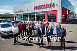 Staff at Randles brothers, Nissan dealers in Tralee.