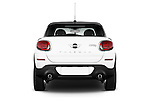 Straight rear view of a 2013 Mini Paceman2013 Mini Paceman
