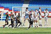 CALI - COLOMBIA, 12-10-2020: Atlético F.C. y Llaneros F.C. en partido por la fecha 12 de la Torneo BetPlay DIMAYOR 2020 jugado en el estadio Pascual Guerrero de la ciudad de Cali. / Atletico F.C. and Llaneros F.C. in match for the for the date 12 as part of BetPlay DIMAYOR Tournament I 2020 played at Pascual Guerrero stadium in Cali. Photo: VizzorImage / Nelson Rios / Cont