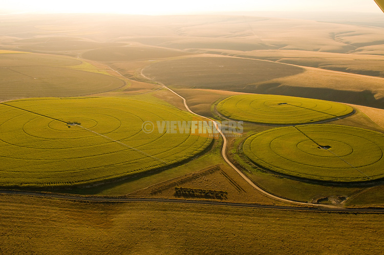 Crop Circles in the Columbia River Basin