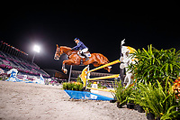 AUS-Andrew Hoy rides Vassily de Lasos during the Eventing Individual Jumping Final (MEDAL). Tokyo 2020 Olympic Games. Monday 2 August 2021. Copyright Photo: Libby Law Photography