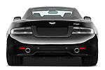 Straight rear view of a 2012 Aston Martin Virage