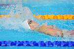 Wales' Georgia Davies competes in the women's 100m backstroke semi-final<br /> <br /> Photographer Chris Vaughan/CameraSport<br /> <br /> 20th Commonwealth Games - Day 2 - Friday 25th July 2014 - Swimming - Tollcross International Swimming Centre - Glasgow - UK