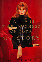 BNPS.co.uk (01202 558833)<br /> Pic: Juliens/BNPS<br /> <br /> Sarah Ferguson signed autobiography book gift to Taylor..<br /> <br /> A spectacular collection of over 1,000 items charting Elizabeth Taylor's life including her iconic outfits are up for sale for over £1million. ($1.25million)<br /> <br /> Dozens of designer gowns, fur coats and capes are being auctioned by the trustees of the estate of the late English actress.<br /> <br /> Also going under the hammer are the Hollywood icon's stylish wigs, scarves, shoes and jewellery.<br /> <br /> Items of her lavish furniture from her luxury homes across the world, right down to her personalised salt and pepper shaker, are included.