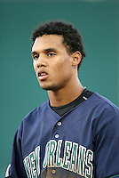 Carlos Gomez / New Orleans Zephyrs..Photo by:  Bill Mitchell/Four Seam Images
