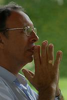 Bispo D. Flávio Giovenalli um dos ameaçados de morte entre oito religiosos no Pará.<br /> Abaetetuba, Pará, Brasil.<br /> Foto Paulo Santos<br /> 03/02/2009