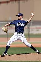 Alllen Harrington  - San Diego Padres - 2009 spring training.Photo by:  Bill Mitchell/Four Seam Images