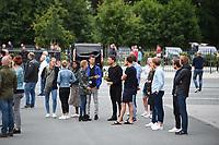 SCHAATSEN: HEERENVEEN: 22-07-2020, Eerbetoon aan de overleden shorttracker Lara van Ruijven, ©foto Martin de Jong