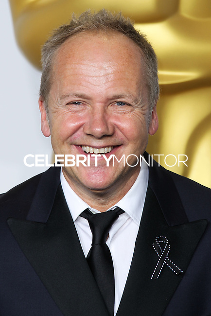 HOLLYWOOD, LOS ANGELES, CA, USA - MARCH 02: Glenn Freemantle at the 86th Annual Academy Awards - Press Room held at Dolby Theatre on March 2, 2014 in Hollywood, Los Angeles, California, United States. (Photo by Xavier Collin/Celebrity Monitor)