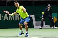 ABN AMRO World Tennis Tournament, Rotterdam, The Netherlands, 14 februari, 2017, Philipp Kohlschreiber (GER)<br /> Photo: Henk Koster
