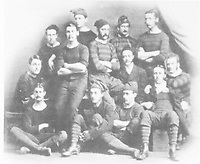 BNPS.co.uk (01202 558833)<br /> Pic: Pen&SwordBooks/BNPS<br /> <br /> Pictured: The Royal Engineers after the 1873 final.<br /> <br /> A historian believes he has uncovered a previously unknown participant in the first ever FA Cup final.<br /> <br /> James Bancroft is convinced Lieutenant George Barker represented the Royal Engineers in the 1872 final against the Wanderers.<br /> <br /> However, he is not listed in any official records or football books written about the showpiece occasion.<br /> <br /> Mr Bancroft said he has found newspaper reports with Lt Barker on the team-sheet and he appears in full kit in the Royal Engineers post-match team photo.<br /> <br /> He outlines his theory in his new book, The Early Years of the FA Cup, which charts the rise and fall of the Royal Engineers, the only military team to win the trophy.