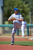 AZL Royals starting pitcher Collin Snider (25) during an Arizona League game against the AZL Dodgers Lasorda on July 4, 2019 at Camelback Ranch in Glendale, Arizona. The AZL Royals defeated the AZL Dodgers Lasorda 4-1. (Zachary Lucy/Four Seam Images)