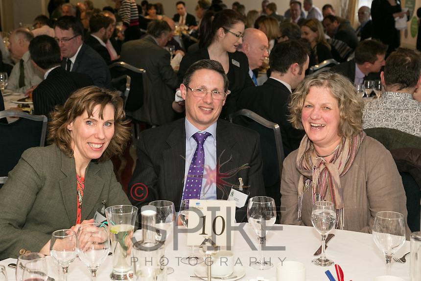 In the midst of the lunch are Anniaka Hobbs of Fresssh Image, Paul Fileman of Results Zone and Louise Startin of Life Matters Coaching