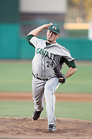 Matt Sisto #24 of the Hawaii Rainbows plays against the San Jose State Spartans in the Western Athletic Conference post-season tournament at Hohokam Stadium on May 26, 2011 in Mesa, Arizona. .Photo by:  Bill Mitchell/Four Seam Images.